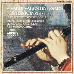Vivaldi/Valentine/Sarri: Flötenkonzerte