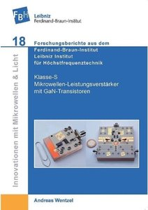 Klasse-S Mikrowellen-Leistungsverstärker mit GaN-Transistoren