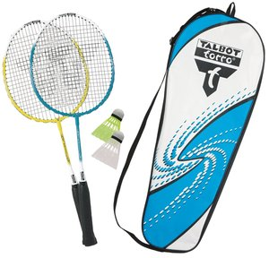 Talbot Torro 449510 - Badminton Set Attacker-Junior im Thermobag