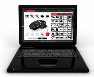 Mad Catz Office R.A.T. - Weiß - Funk-Maus für PC, Mac und Androi