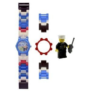 Universal Trends CT00329 - LEGO City: Kinderuhr, Polizei