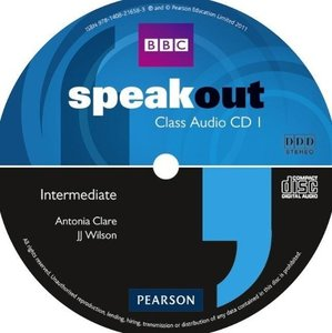 Speakout Intermediate Class Audio CD