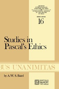 Studies in Pascal's Ethics