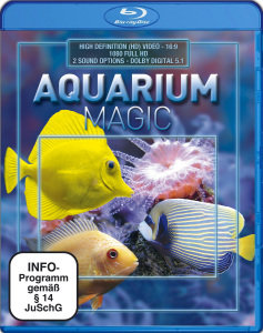 Aquarium Magic-Blu Ray Disc