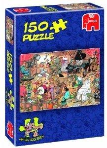 Jumbo Spiele 17160 - Jan van Haasteren: Die Künstler, 150 Teile
