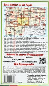 Bayerische Rhön, Oberelsbach, Mellrichstadt und Umgebung Radwand