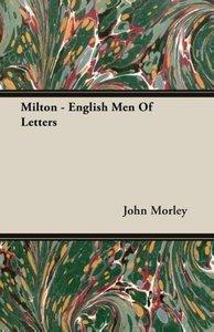 Milton - English Men Of Letters