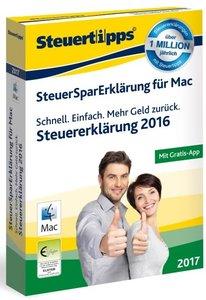 SteuerSparErklärung Mac 2017