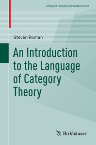 An Introduction to the Language of Category Theory