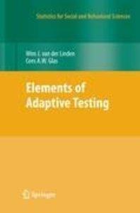 Elements of Adaptive Testing