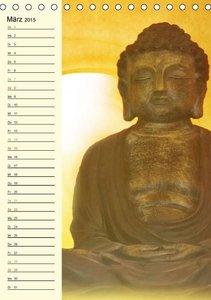Burlager, C: Buddha (Tischkalender 2015 DIN A5 hoch)