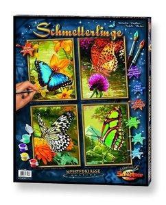 Schipper Malen nach Zahlen: Schmetterlinge (Quattro)
