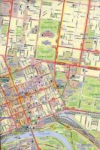 Melbourne (Australia) City Map 1 : 12 500