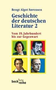 Geschichte der deutschen Literatur 2: Vom 19. Jahrhundert bis zu