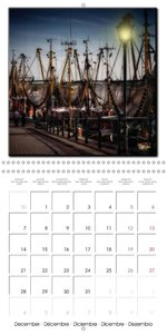 East Friesland - beautiful old harbours (Wall Calendar 2015 300