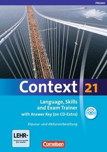 Context 21. Workbook mit Lösungsschlüssel und CD-ROM. Hessen