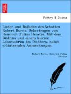 Lieder und Balladen des Schotten Robert Burns. Uebertragen von H