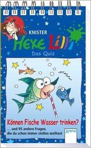 Hexe Lilli - Das Quiz : Können Fische Wasser trinken?