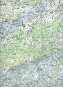 Swisstopo 1 : 25 000 Guggisberg