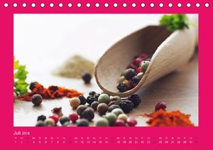 Frische Früchte und Gesundes Allerlei (Tischkalender 2016 DIN A5