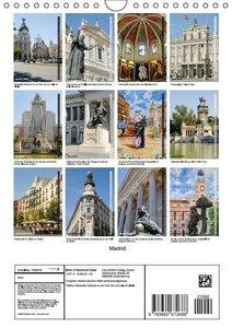 Boensch, B: Madrid (Wandkalender 2015 DIN A4 hoch)