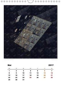 Ästhetisches Chaos - Phantasien (Wandkalender 2017 DIN A4 hoch)