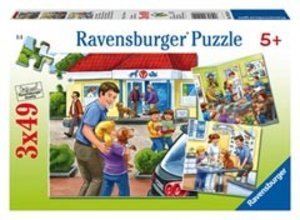 Ravensburger 09424 - In der Tierklinik, Puzzle, 3x49 Teile