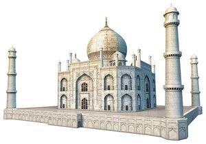 Ravensburger 125647 - Taj Mahal, 3D Puzzle