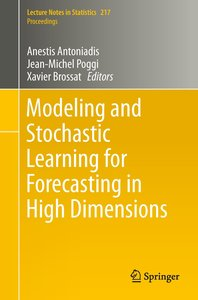 Modeling and Stochastic Learning for Forecasting in High Dimensi