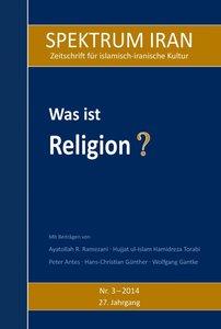 Was ist Religion?