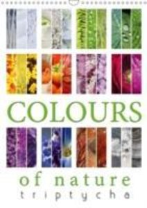 Colours of Nature - Triptycha (Wall Calendar 2015 DIN A3 Portrai