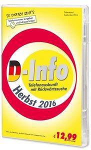 Telefonauskunft D-Info mit Rückwärtssuche Herbst 2016