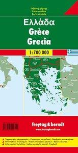 Griechenland 1 : 700 000. Autokarte
