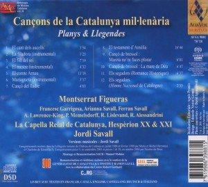 Cancons De La Catalunya Millenaria