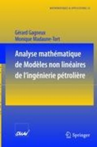 Analyse mathématique de modèles non linéaires de l'ingénierie pé