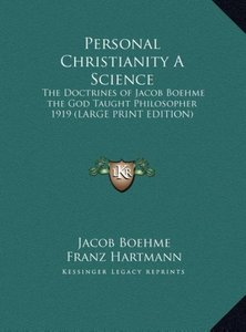 Personal Christianity A Science
