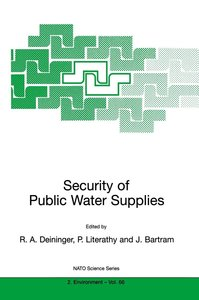 Security of Public Water Supplies