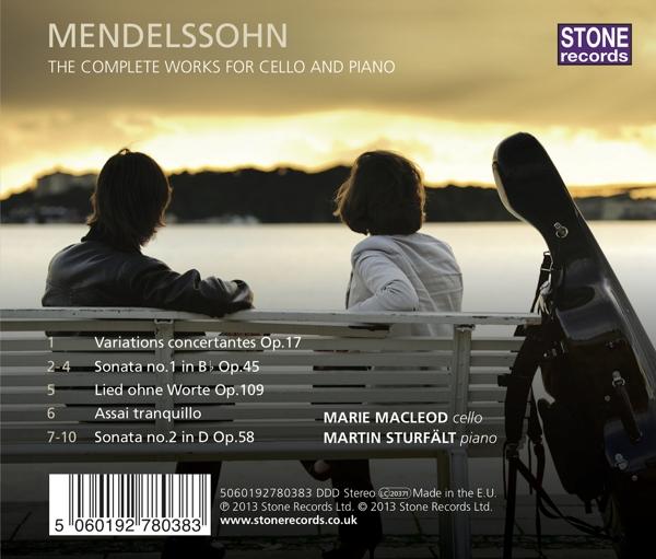 Complete Works for Cello and Piano - zum Schließen ins Bild klicken