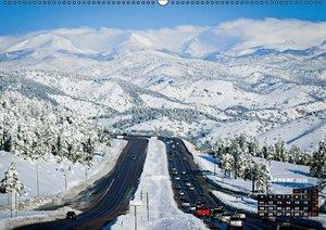 Die USA und ihre großen Straßen (Wandkalender 2016 DIN A2 quer)
