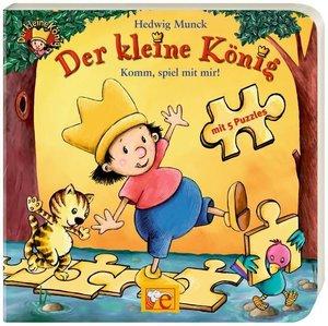 Der kleine König - Komm, spiel mit mir Puzzlebuch
