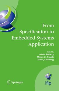 From Specification to Embedded Systems Application