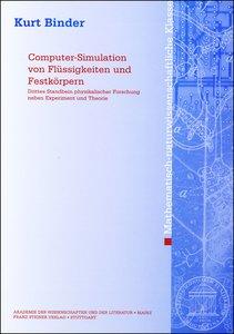 Computer-Simulation von Flüssigkeiten und Festkörpern