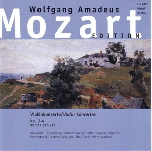 Violinkonzerte 2-4