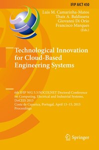 Technological Innovation for Cloud-Based Engineering Systems