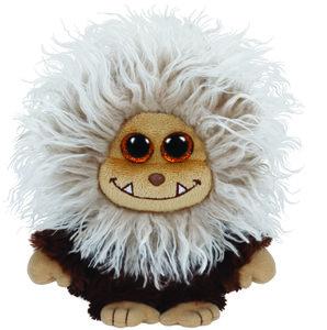 Ty Zinger Buddy-brauner Frizzy, ca. 24 cm