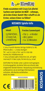 Kosmos 697860 - Crazy Cat: Ab in den Eimer!