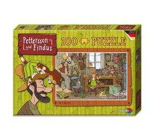 Pettersson Findus 100tlg. Puzzle Werkstatt