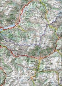 Michelin Localkarte Französische Alpen Süd 1 : 150 000