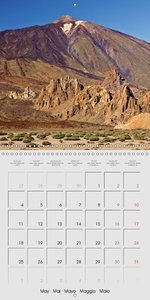 Tenerife Teide National Park (Wall Calendar 2015 300 × 300 mm Sq