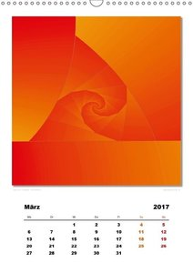 Ästhetisches Chaos - Morgenröte (Wandkalender 2017 DIN A3 hoch)